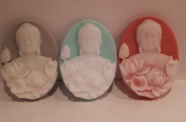 Boeddha in twee kleuren