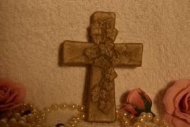 Communie bedankje kruisje