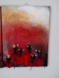 Schilderij africa 2