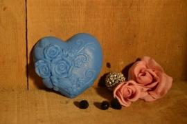 hart met drie roosjes