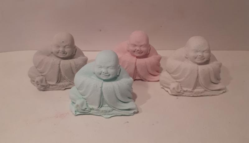 """Boeddha """"Ik wens je veel geluk""""."""