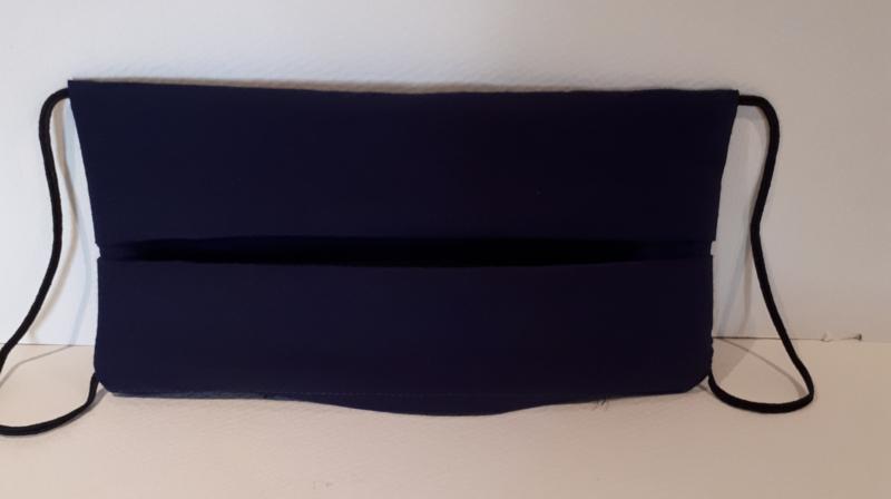 Mondkapje donker blauw
