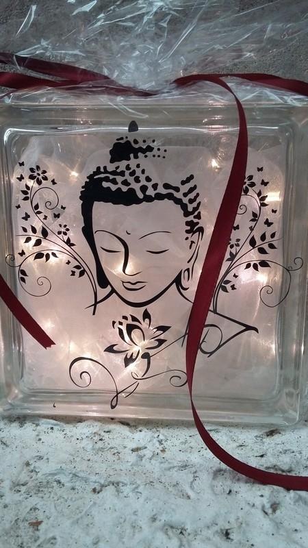 Glasblok BuddhaGla