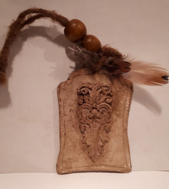 Klei label ornament 1