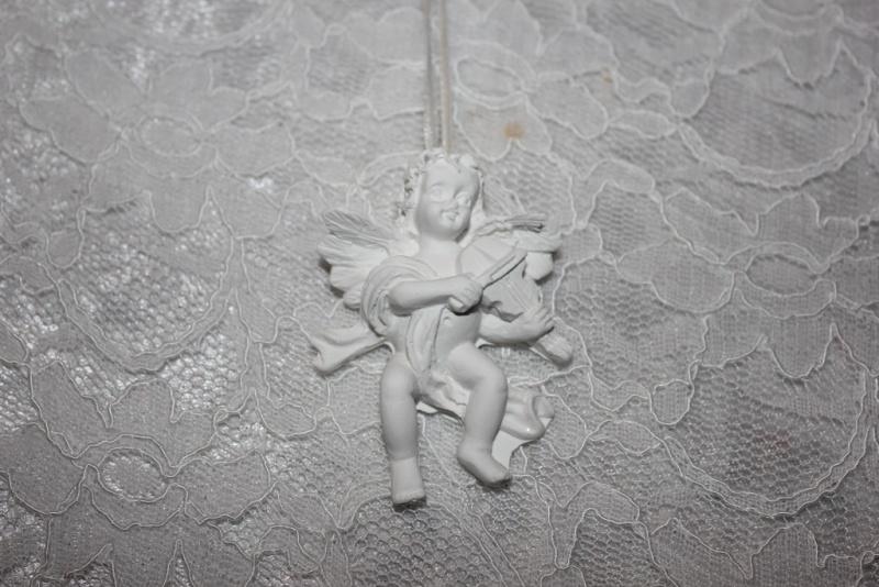 Engel met viool.