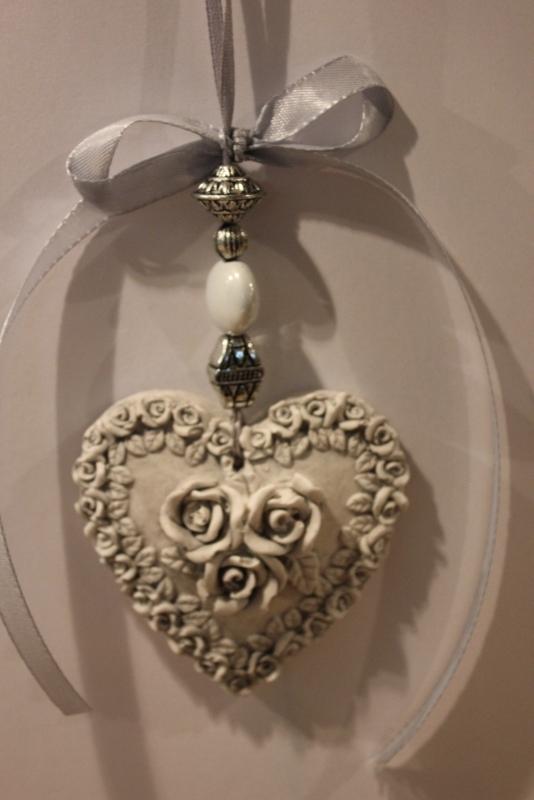Rozenkrans hart hanger