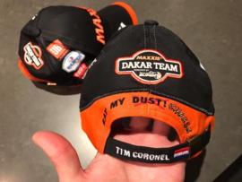 Maxxis Dakar Team cap 2017 Tim Coronel