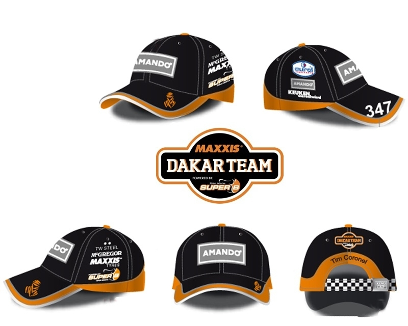 Maxxis Dakar Team Cap Amando
