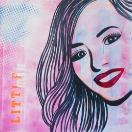 Portret Schilderij Jade, Little Mix