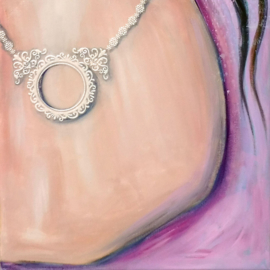 Schilderij Latina Girl