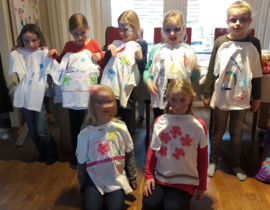 Kinderfeestje T-shirt pimpen