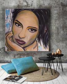 Schilderij Braziliaanse vrouw
