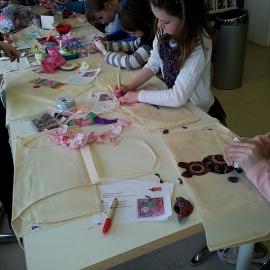 Kinderfeestje schorten pimpen