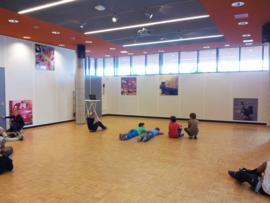 Inrichting grote vergaderruimte wijkcentrum Windkracht 5 in Rosmalen