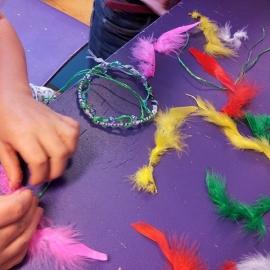 Kinderfeestje dromenvanger maken