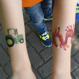 Workshop Schminken, Tattoos en Wonden Maken