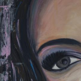 Schilderij Mexican Woman
