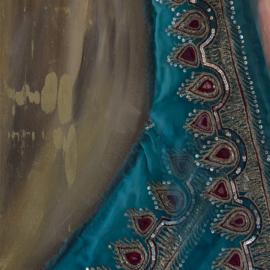 Schilderij Indiase bruiloft