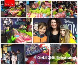 Workshop tijdens Cinekid 2016 ter intro van Jonge Garde, DisneyChannel