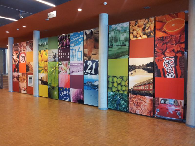 Inrichting hal/foyer wijkcentrum Windkracht 5 in Rosmalen