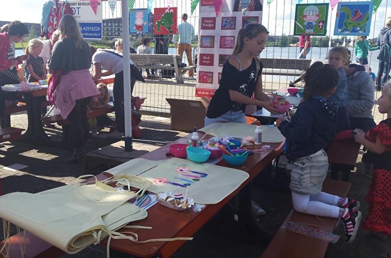 Kinderactiviteiten tijdens Foodfestivals