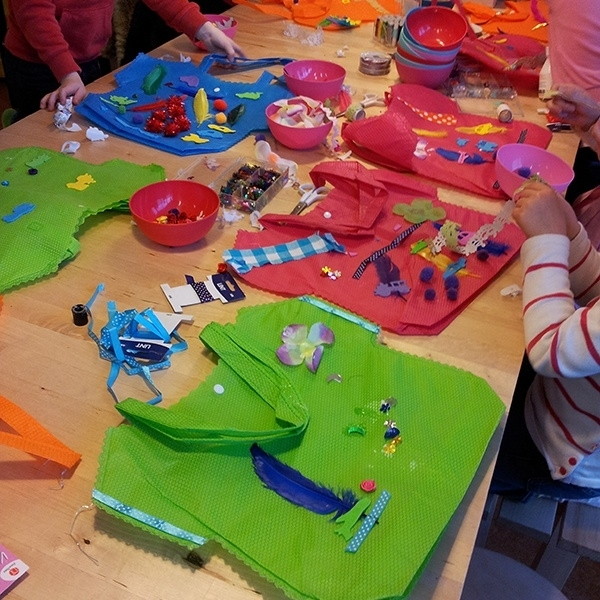 Workshop Tassen Maken