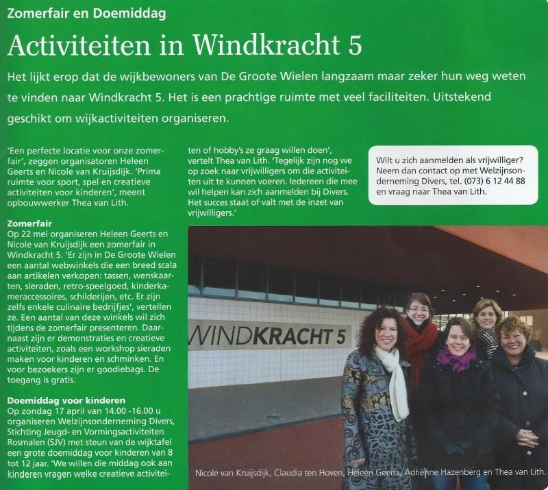 Nieuwsbrief Rosmalen en De Groote Wielen, Maart 2011