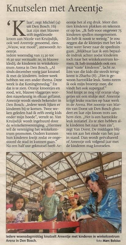 Brabants Dagblad, April 2010