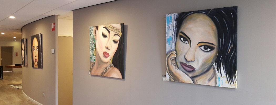 Exposities Schilderijen Nicole