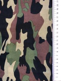 Camouflage groen zwart