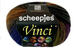 Scheepjes Vinci paars / oker / blauw