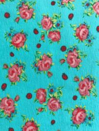 Stenzo Aqua met roze roos