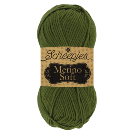 Merino Soft 627 olijfgroen