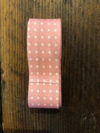 Oud roze stip 2 cm