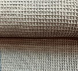 Wafelstof olifant-grijs