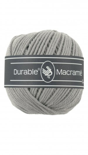 Macramé licht grijs