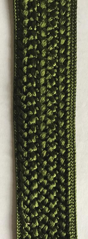 Mosgroen breed band 3,4 cm breed