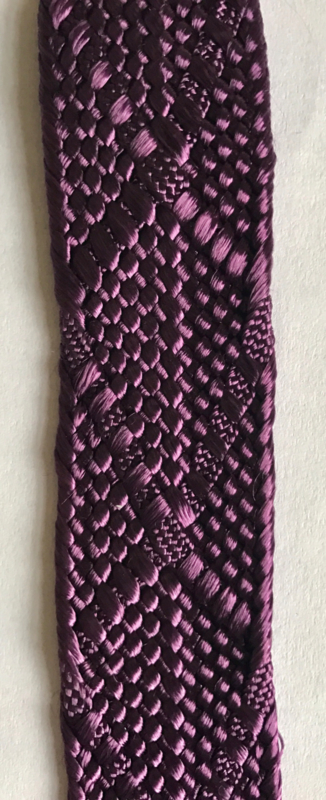 Stevig paars band 2,6 cm breed