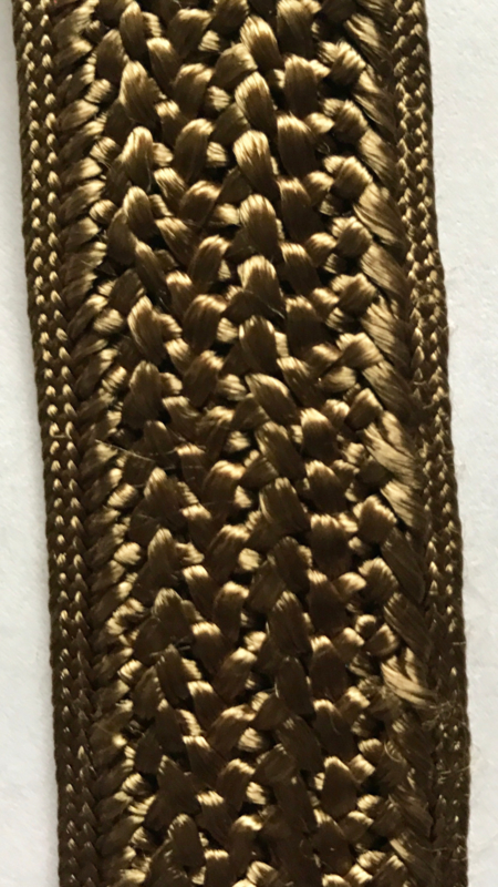 Legergroen band 3 cm breed