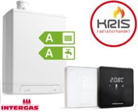 Intergas HRE 36-30A  ruimtethermostaat comfort touch