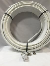 rtl ventiel recht met 50 mtr comap buis 16 mm 4m2 vloerverwarming