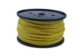 Kabel pvc 1,5mm² geel, 50 meter - 360106604