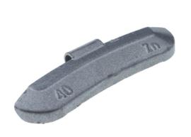 Wielgewicht universeel staal 40 gram, (50 stuks) - STV40