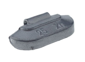 Wielgewicht universeel staal 25 gram, (100 stuks) - STV25
