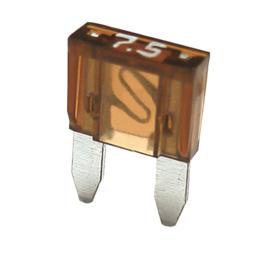 Steekzekering mini 7,5A (50 stuks) - SF7075