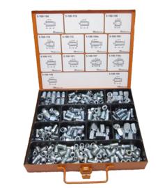 Remleiding wartels assortiment (165 delig) - CA0006