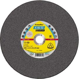 Klingspor kleine doorslijpschijf, 76 x 1,6 x 10 mm, (25 stuks) - 329101