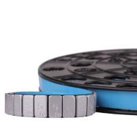 Kleefgewichten, gecoat op rol zilver,  5 gram / 3,8 mm 6kg  - PZBROL