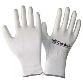 Cardok werkhandschoenen wit, - CA0999