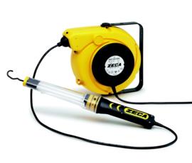 Elektrahaspel met lamp Zeca - CA0220